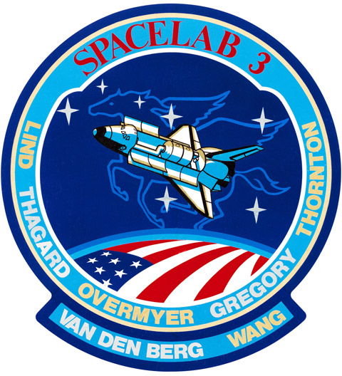 STS 51B Patch