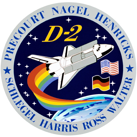 STS 55 Patch