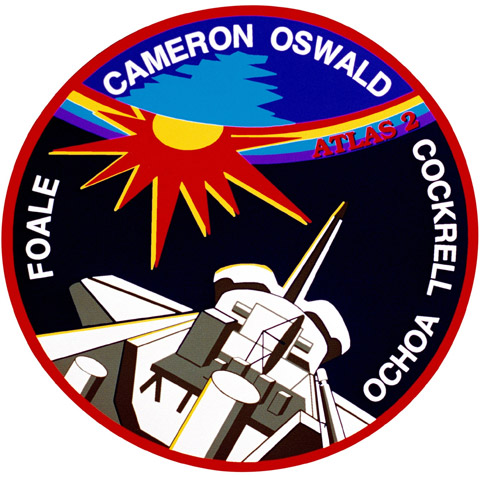 STS 56 Patch