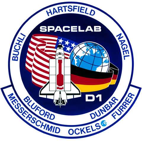 STS 61A Patch