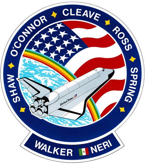 STS 61B Patch