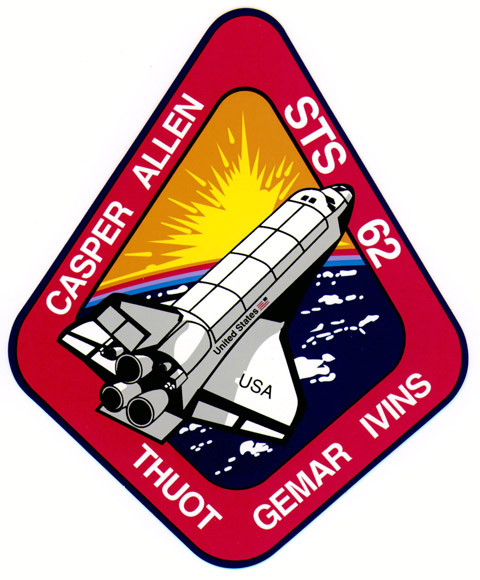 STS 62 Patch