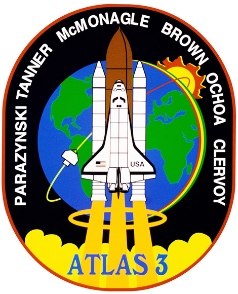 STS 66 Patch