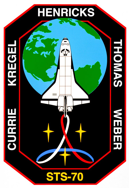 STS 70 Patch