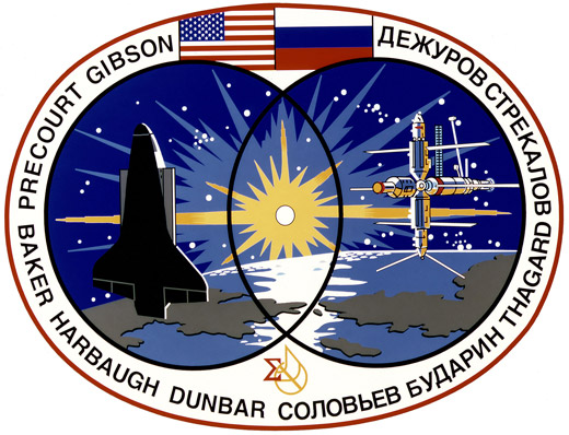STS 71 Patch