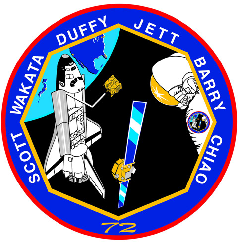 STS 72 Patch