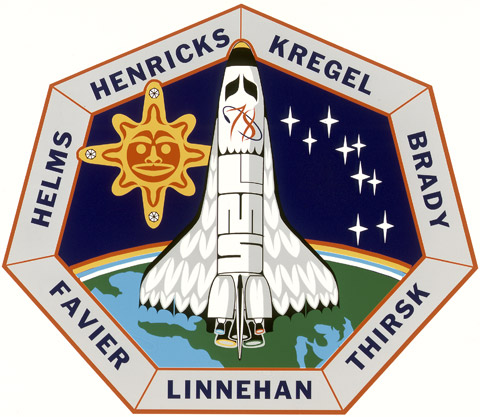 STS 78 Patch