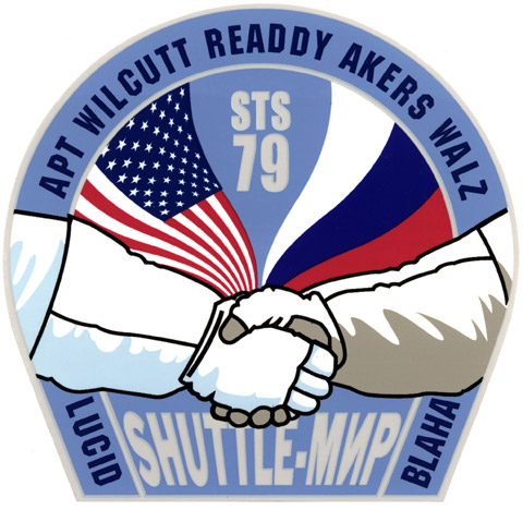 STS 79 Patch