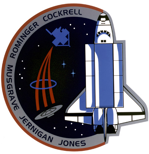 STS 80 Patch