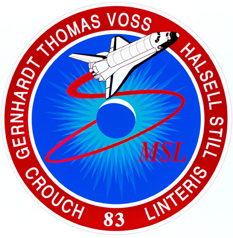 STS 83 Patch