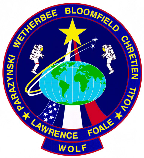 STS 86 Patch