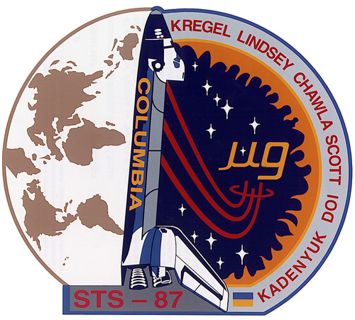 STS 87 Patch
