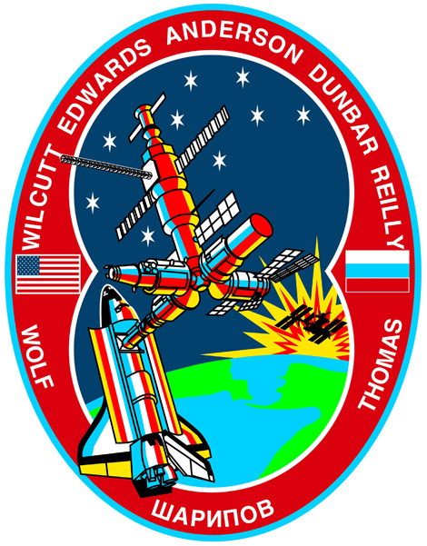 STS 89 Patch