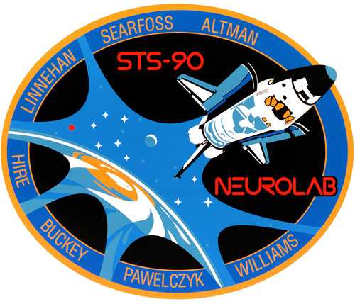 STS 90 Patch