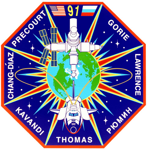 STS 91 Patch