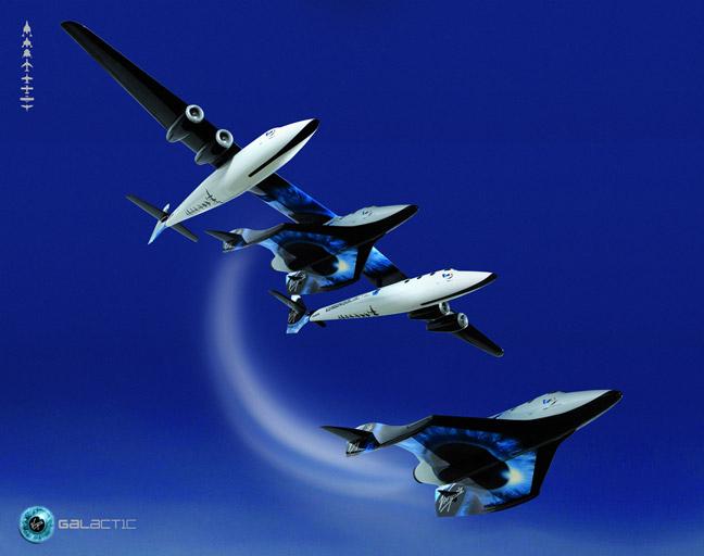 SpaceShipTwo Drop Shot