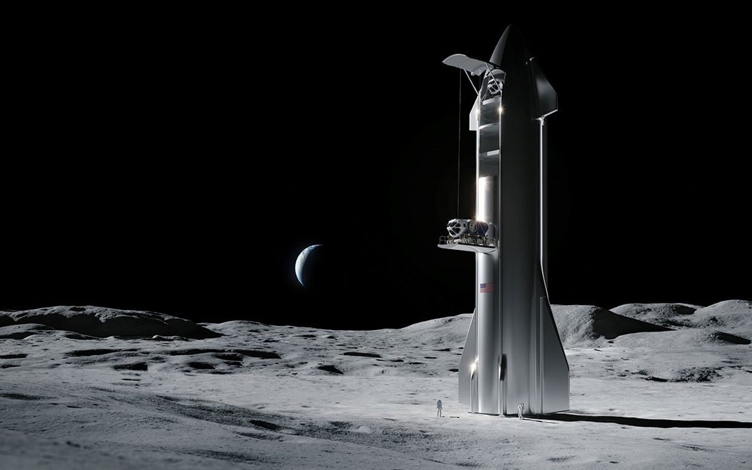 SpaceX CLPS concept