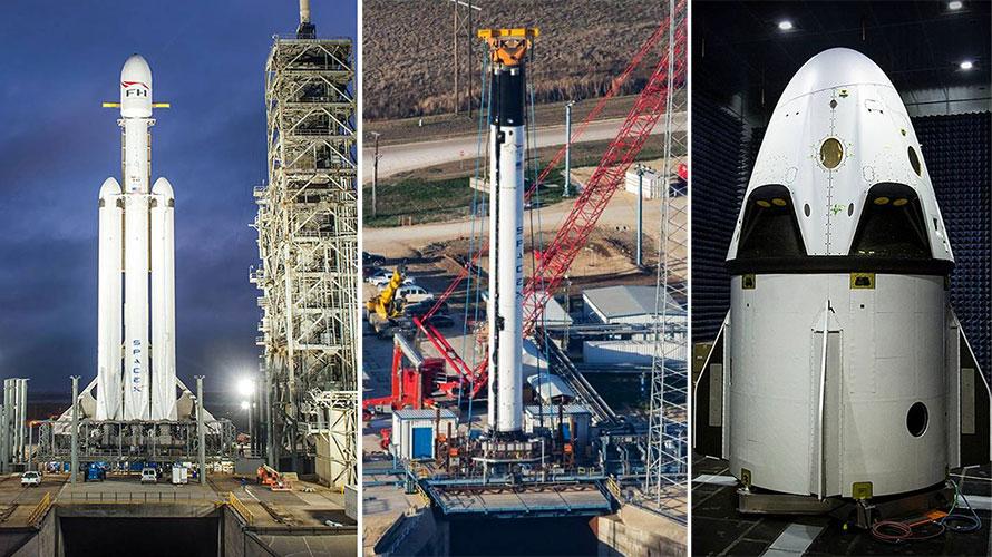 The SpaceX Triple Trifecta