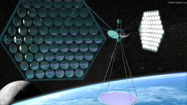 space based solar power satellite system/