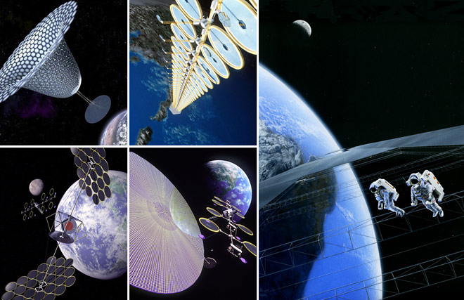 space solar power concepts