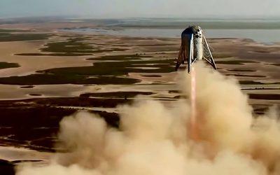 SpaceX Starhopper 150-meter Jump Emphasizes Development of Mega Rockets