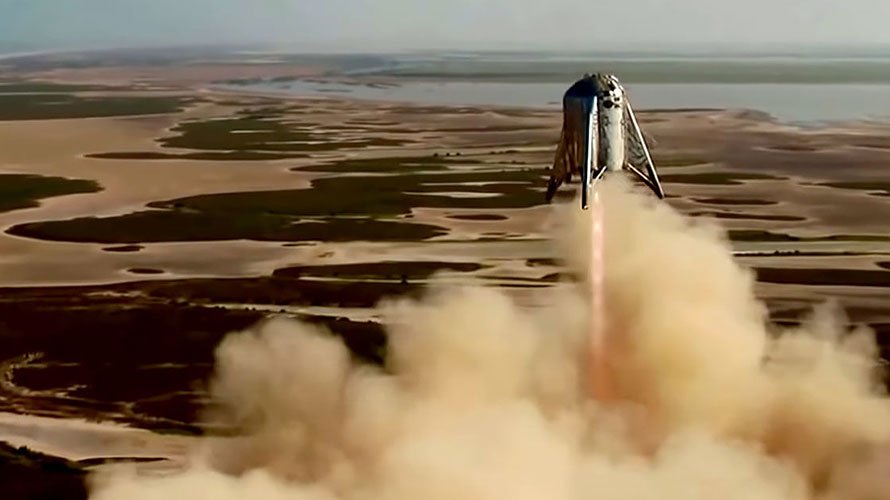 SpaceX Starhopper 150-meter Jump Emphasizes Development of Mega Rockets