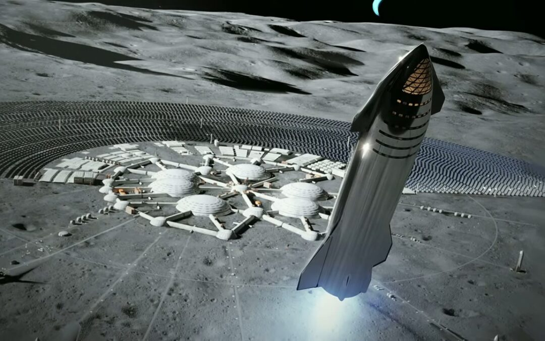 Starship lunar base