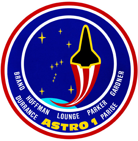 sts-35 space shuttle mission patch
