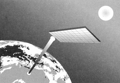 Sun Power Global Solution Solar Power Satellite