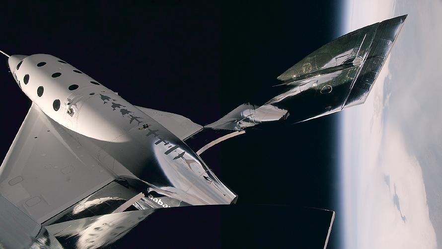 Virgin Galactic VSS Unity Third Powered Test Flight