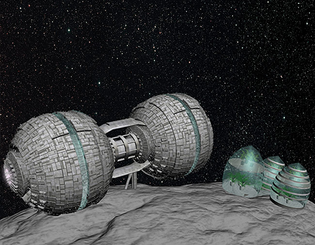 2013 student art contest Voinea Asteroid Base